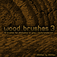 Wood Brushes 3 by AscendedArts