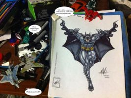 The Batman completed_ plus my unusual guests XD by wsache007