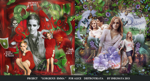 Project '''Gorgeous Emma '' for Alice by Snegnaya