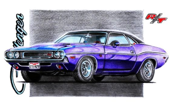 Dodge Challenger R/T by Arek-OGF