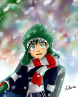 Winter greetings from little Danny by lilu-Ka