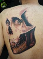 Skully by LimaoTattoo