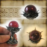 Mini Crimson Crystal Ball 2 by grimdeva