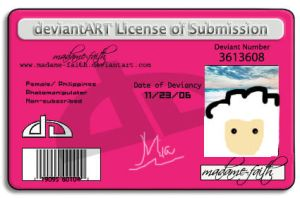 License by madame-faith