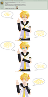 Answer to Question 166 - 4 Questions~ by AskKagamineLen02