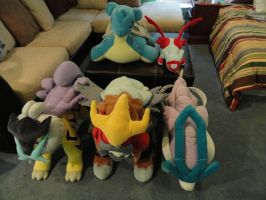 Giant Pokemon Center Plushies Overview (literally) by NewTypeOne