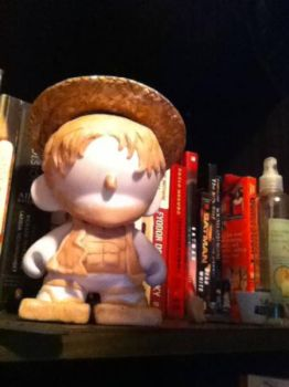 One Piece- Monkey D. Luffy Munny WIP by Last-Superpower