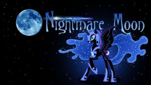 Nightmare Moon Wallpaper by IIThunderboltII