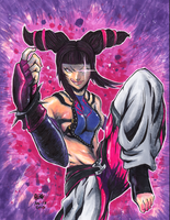 Juri Han Coloured by matsuyama-takeshi