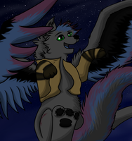 Commission for TheBloodWolfTenbatsu by Fire-Loup