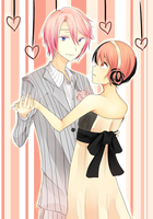 SC: SUPER PINKU COUPLE by Leafy-chwan