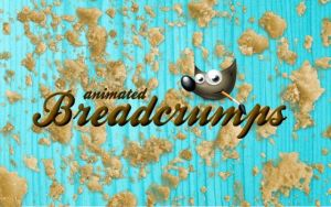 Breadcrumps GIMP Brush by FrenchTeilhard