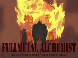 Fullmetal alchemist movie poster by KeybladeAlchemist