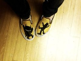 Where the Wild Things Are vans by TheStrengthToGoOn