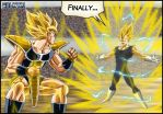 -DBM- Kakarotto VS Vegeta by DBZwarrior