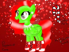 Peppermint cane by S-K-Y-L-I