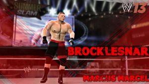 Brock Lesnar - WWE'13 Screenshot Wallpaper by MarcusMarcel