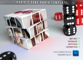 Rubik's Cube Photo Template by ryan-mahendra