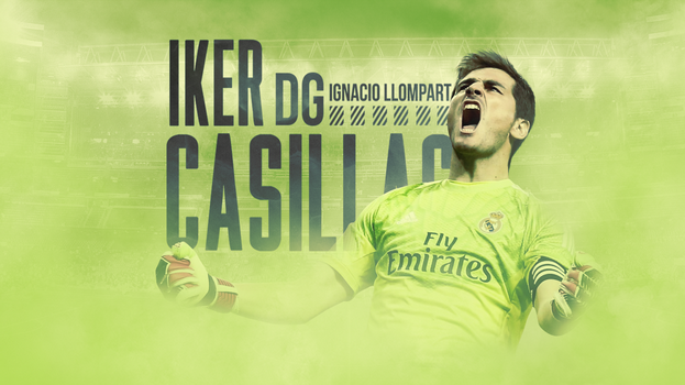 Iker Casillas Wallpaper by ignaxxx