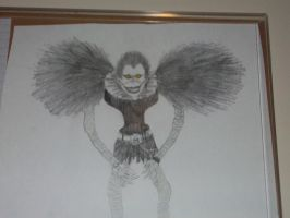 ryuk from deathnote drawing by 6death6stars6