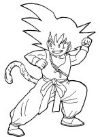Kid Goku by BubbaZ85