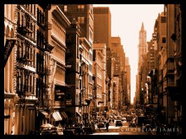 Sidestreets of New York by MagicJunkie007