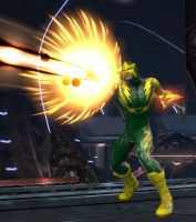 Electro (DC Universe Online) by comix-fan