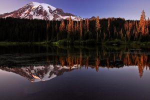 Dusk on Rainier by Jordan-Roberts