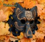Regal Dire Wolf...autumn 2015 by merimask