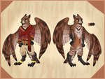 ''Father'' Owl Concept by Pepper-Head