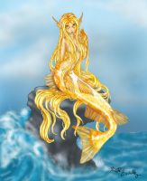 Harmony the Mermaid by PookaWitch
