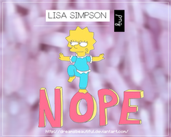 -Lisa simpson |png| by DreamsBeautiful