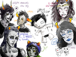 Another Homestuck Dump (Deal wwith it) by OctoGear