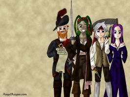 Pirates of the Apartment WP by wifey