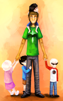 Andrew Hussie and beta kids by Rimmo