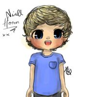 Niall Horan Drawing. Chibi-ish by AngelNightmare1441