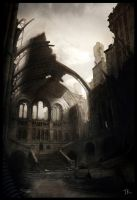 Abandoned catedral by TomasKral