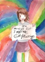 I suport Gay Marriage by Invader-Zimie