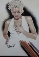 Gwen Stefani Drawing by Live4ArtInLA