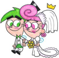 Cosmo and Wanda's Wedded Bliss by nintendomaximus