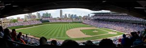 cubs panorama by delobbo
