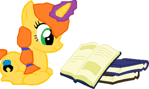 Sapphire Ring is a Bookworm by Apple-Jack1000