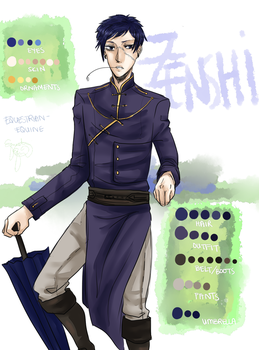 Zenshi of the Yato Tribe by Equestrian-Equine