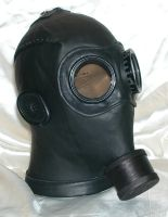 Custom gasmask by GriffinLeather