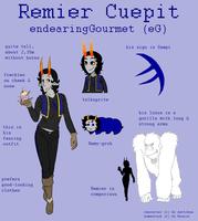 Reference Sheet: Remier Cuepit by Aettchen