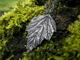 Althaea officinalis, Marshmallow Pendant by QuintessentialArts