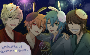 HH: FT1 Tanabata with friends by naotorii