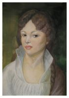 The Copy of Portrait of Maria Lopuhina by WooHooGirl