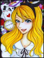 Alice in Wonderland by marikit