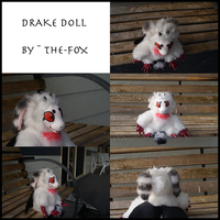 DRAKE DOLL :D by The-F0X
